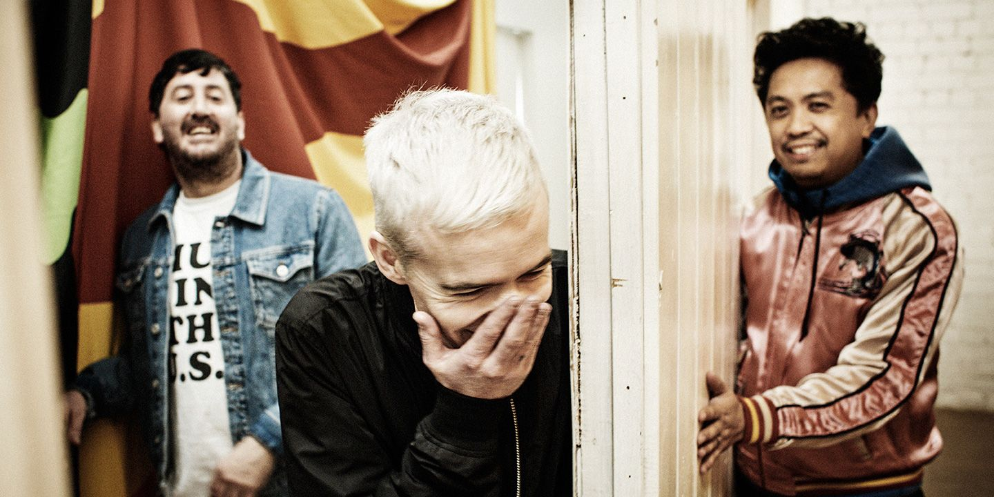 Listening to Since I Left You by The Avalanches