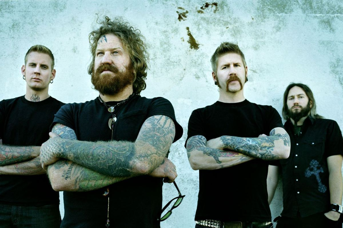 Listening to Once More 'Round the Sun by Mastodon