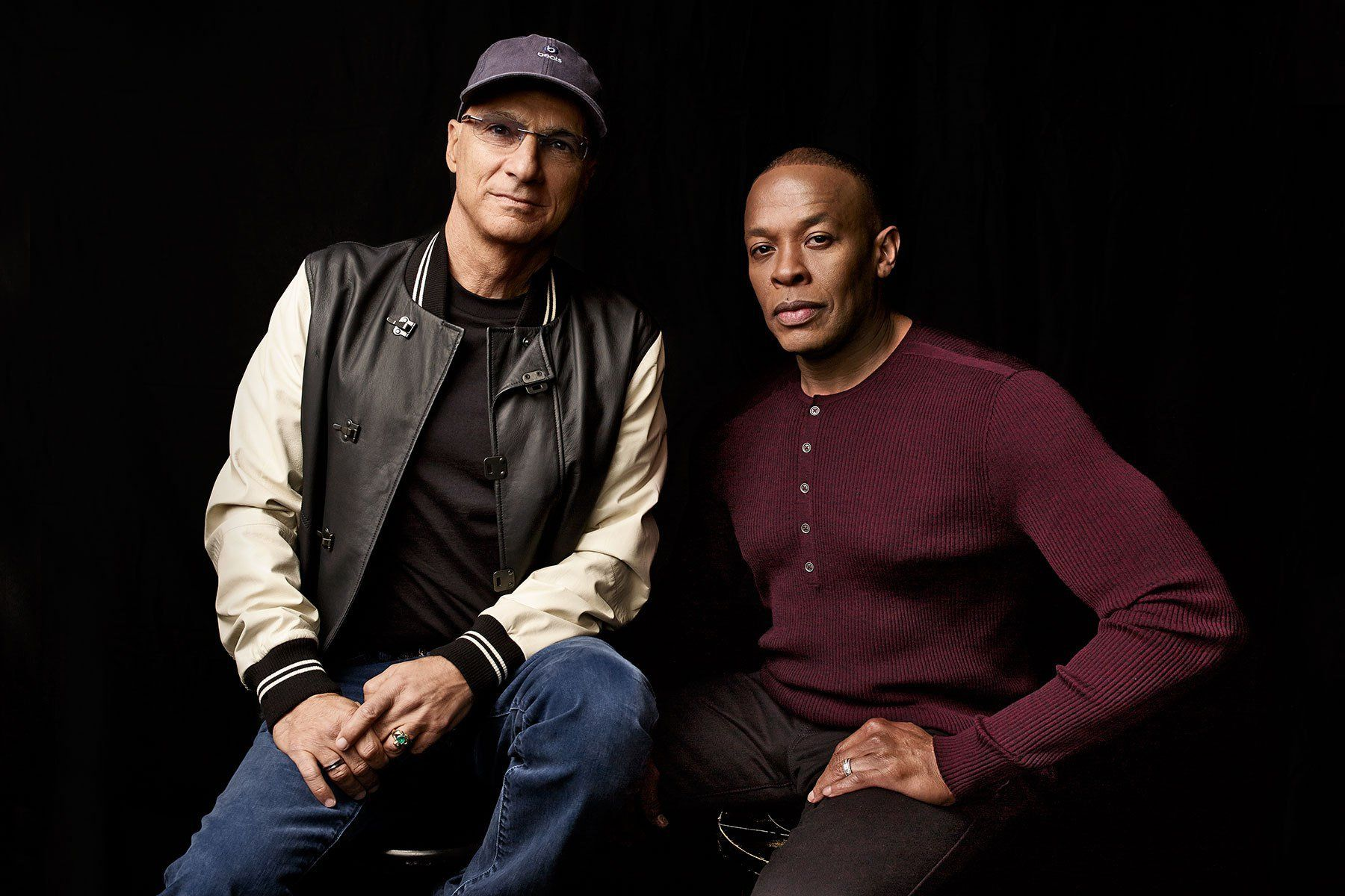 Steve Stoute interviews Jimmy Iovine