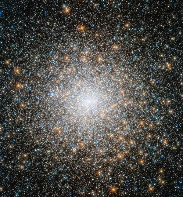 Messier 15 provides a little perspective!